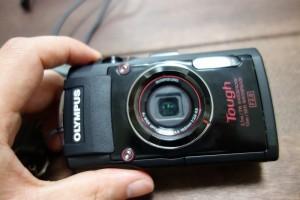 オリンパスの防水デジタルカメラ