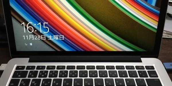 windows8.1をBootCampにてインストールする【macbook Pro13】