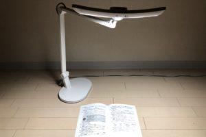 グッドデザイン賞受賞の「BenQ Wit MindDuo LED」デスクライトレビュー